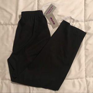 NWT Alia Micro Fiber Twill Straight Relaxed Pants